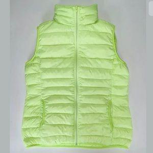 L'amie De Paris ultralight down Neon Vest - Sz: M